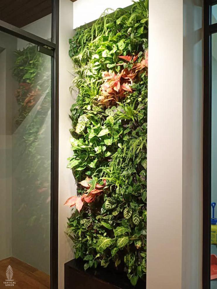 green wall home malaysia