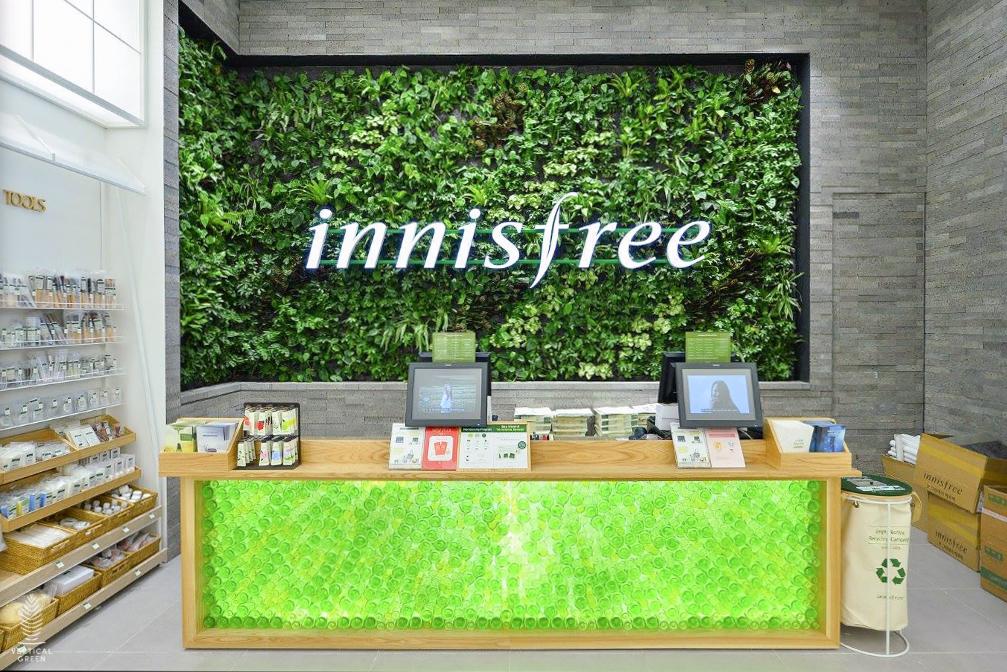 green wall innisfree malaysia