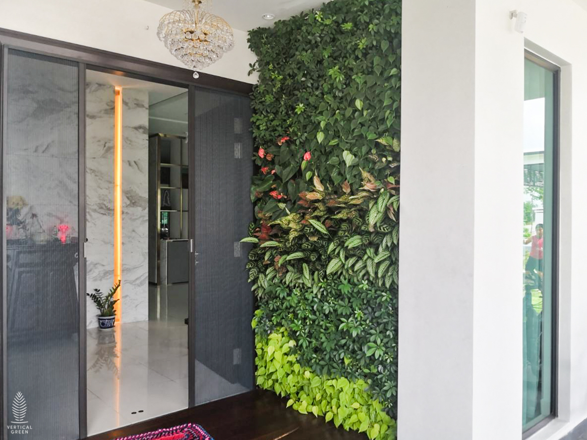 home green wall